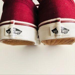 Vans Shoes - Vans Old Skool Cordovan Size 8